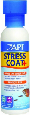 Api Stress Coat and Stress Zyme Water Conditioners