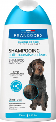 Francodex Shampoing anti-mauvaises odeurs pour chien
