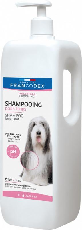 Francodex Shampoing Poils Longs 1L & 250ml