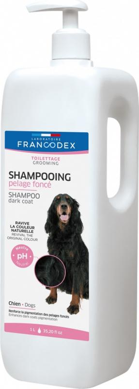 Francodex Shampoo Pelo Nero per cani 1L & 250ml