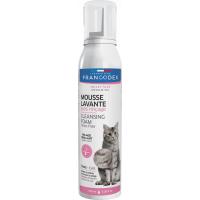 Francodex Mousse Lavante Chat - Sans rinçage - Spray 150ml
