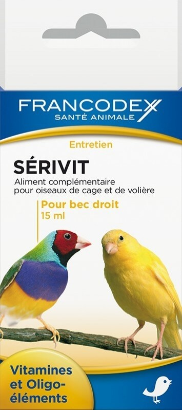 Serivit - Vitaminas para picos rectos - Vitaminas y Oligoelementos.