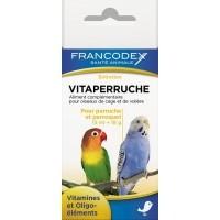 VITAPERRUCHE pour perruches et perroquets - pour becs crochus - vitamines et oligo-éléments