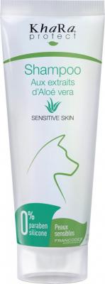 Khara Shampoing peau sensible à l'aloé vera