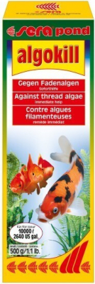 Sera Pond Algokill - Actúa inmediatamente contra las algas filamentosas antiestéticas en los estanques