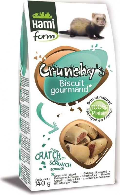 Friandises Biscuit Gourmand pour furet CRUNCHY'S