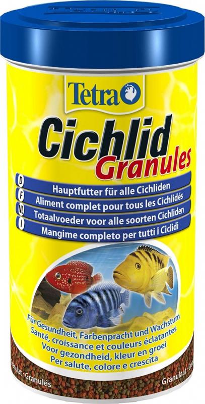 Tetra Cichlid Granulés Aliment complet pour Cichlidés