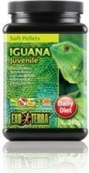 Granulado mous Exo Terra para iguanas jóvenes, 240 gr
