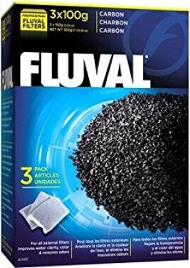 Fluval Zeo-Carb - Aktivkohle & Ammoniak-Entferner 300g