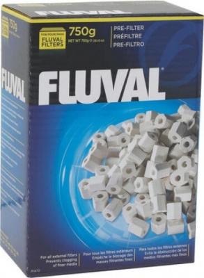 Préfiltre Fluval, 750g pour la filtration mécanique
