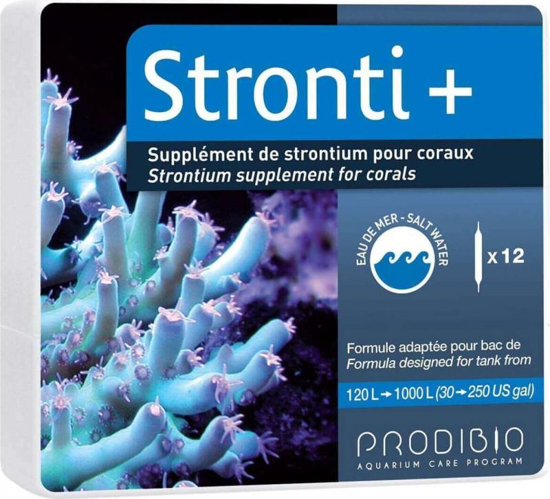 Prodibio Stronti+ Supplément de strontium pour aquarium récifal
