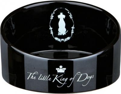 King of Dogs Comedero de cerámica
