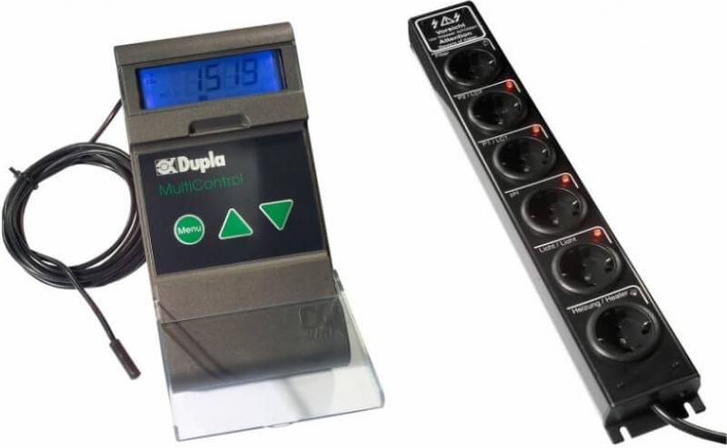 Gestion CO2 et température MultiControl 1.2