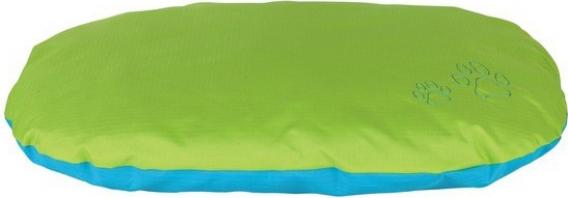 Coussin Drago turquoise/vert