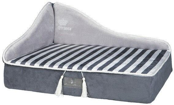 my prince sofa chien gris 2 tailles panier et corbeille. Black Bedroom Furniture Sets. Home Design Ideas