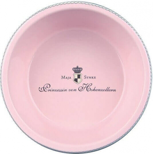 Dog Princess Ecuelle céramique rose