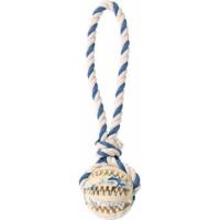 Denta Fun Balle sur une corde, caoutchouc naturel