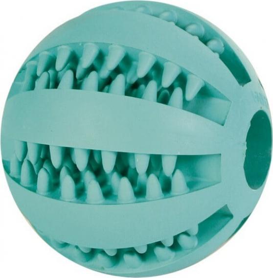 Denta Fun Mintfresh Baseball pour chien, caoutchouc naturel , ø 5 cm