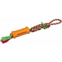Denta Fun Stick sur une corde, caoutchouc naturel 7 cm/51 cm
