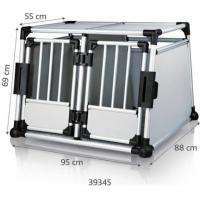Double cage de transport  avec cadre en aluminium spéciale voiture