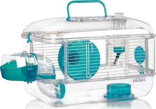 Cage Rodylounge Solo couleur Lagon