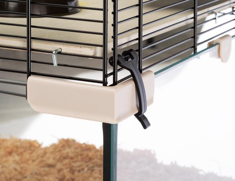 Cage Karat en verre pour petits rongeurs