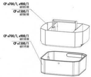 Pièces détachées pour filtre JBL CristalProfi e700/e900