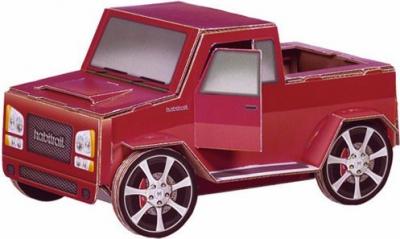 Décor en carton Jeep Pour Hamster