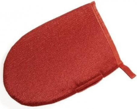 CLEAN GLOVE Luva de limpeza vermelha