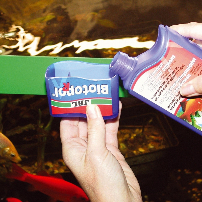 JBL Biotopol R Conditionneur d'eau pour poissons rouges
