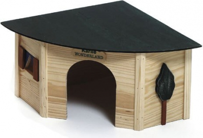 CORNERHOUSE Maisonnette en coin en bois