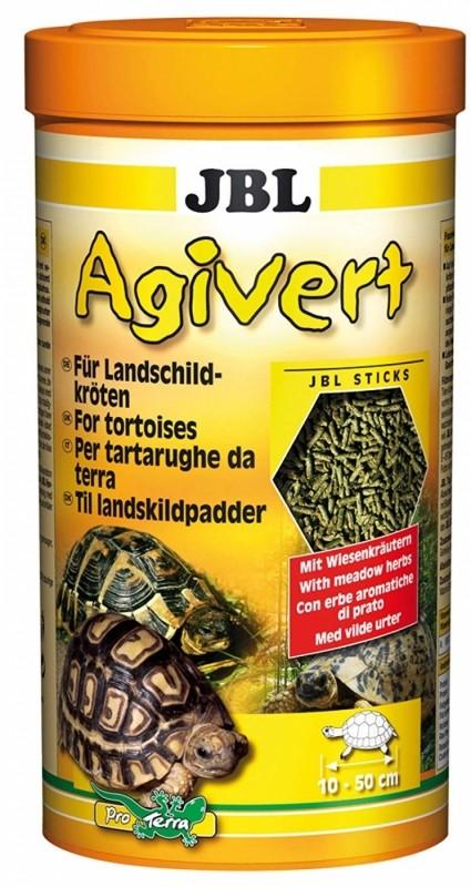 JBL Agivert Nourriture en bâtonnets pour tortues terrestres