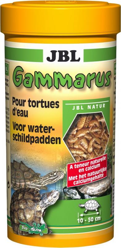 Comida complementaria de calidad superior para tortugas - Gammarus