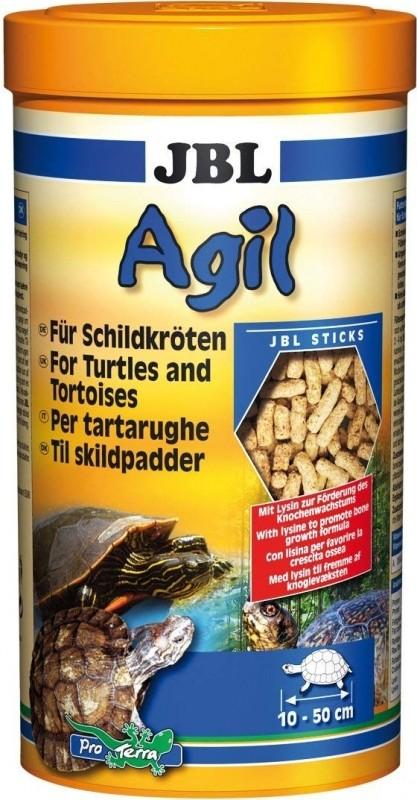 JBL Agil Nourriture en bâtonnets pour tortues