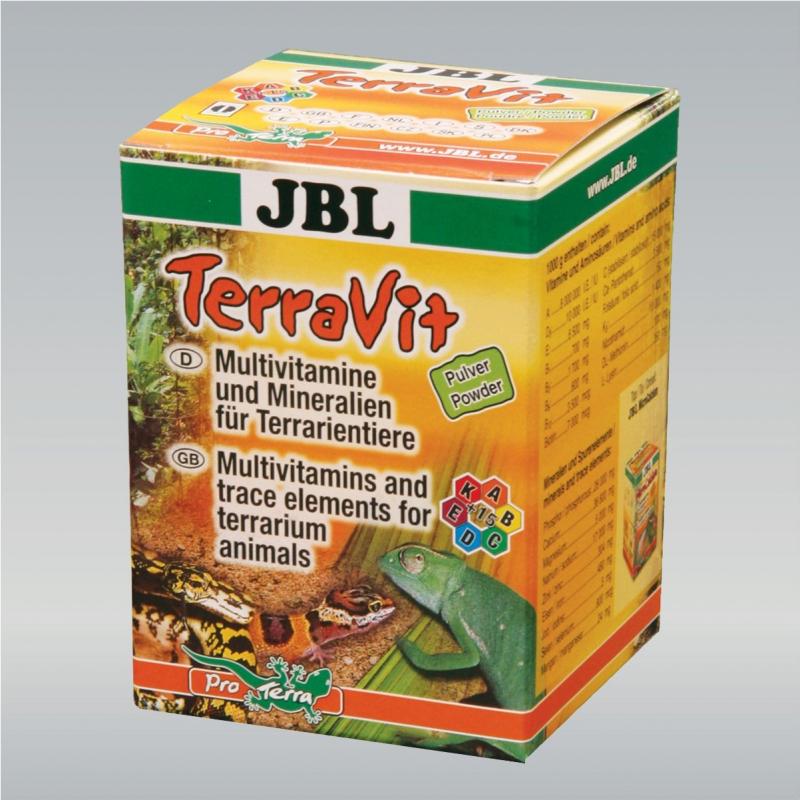 Multivitamines en poudre pour animaux de terrariums - TerraVit 100 gr