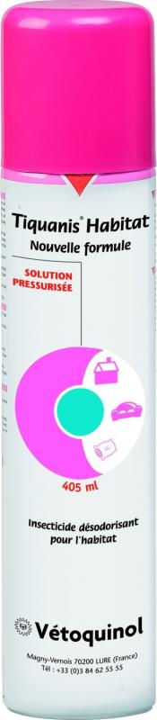 Tiquanis Habitat Spray Nouvelle Formule 405 ml