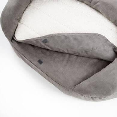 Corbeille Orthopédique pour chien Bed GRIS_1