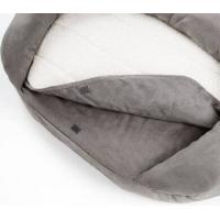 Panier mémoire de forme pour chien Bed Gris