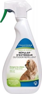 FRANCODEX - Repelente líquido de exteriores para perros y gatos