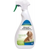 Francodex Répulsif liquide d'extérieur - Eloigne les chiens
