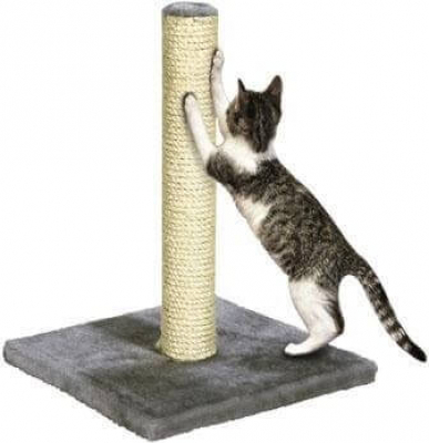 KARLIE - Poste rascador en sisal. Largo 29 x Ancho 29 x Alto 39 cm