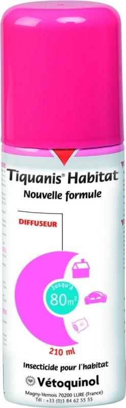 Fumigène Tiquanis Habitat Diffuseur 210ml