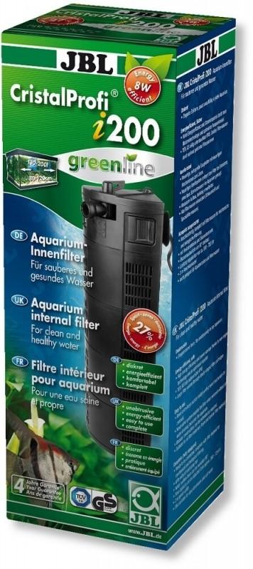 Filtre interne Cristal I 200 Greenline pour aquarium de 130 à 200L