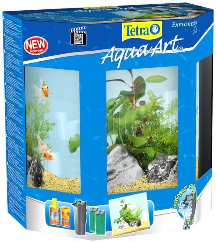 30L Tetra AquaArt Explorer Line aquarium set - Goldfish_2