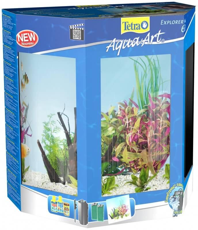 30L Tetra AquaArt Explorer Line aquarium set - Goldfish_3