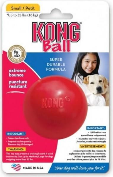 KONG cane Classic Ball 3 Taglie - Giocattolo in gomma resistente
