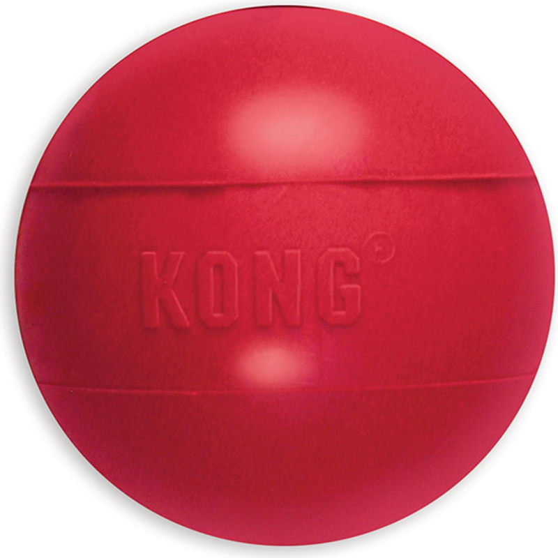 KONG chien Classic Ball 3 tailles - jouet caoutchouc résistant