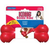 KONG para perro Goodie Bone 3 tamaños - hueso de caucho para perros