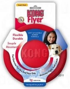 KONG Classic Flyer in 2 Größen - biegsames und robustes Frisbee