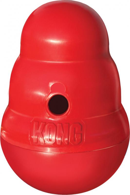 KONG Wobbler - Juguete dispensador de comida